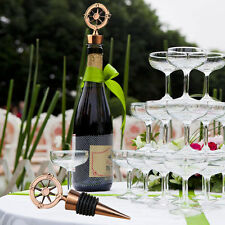 Nautical Compass Wine Bottle Stoppers Travel Theme Wedding Favors Christmas Gift