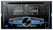 JVC kw-r520 2-din CD mp3 AUTORADIO AVEC USB Vario Color DOUBLE DIN AUX IN