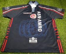 ajax amsterdam holland dutch football large mans rare vintage 1997 umbro shirt