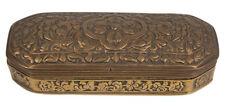 Birmania 19. JH. OTTONE BARATTOLO-a Burmese Brass Betel BOX-birmano Birman 19thc