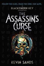 The Assassins Curse Blackthorn key adventure book #3 by Kevin Sands HC w DJ 1st