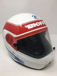 Vintage Motorcycle Bieffe B 85 DOT Helmet Visor Size Large 60 w box gr 1280-Rare