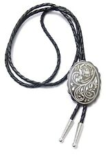 German Silver Engraved Bolo Tie 17223 new western southwest bolo ties