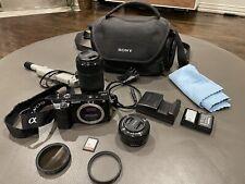 Sony alpha a6000 mirrorless digital camera bundle WiFi 24.3 MP