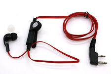 Noodle Cable PTT Earpiece FOR KENWOOD TYT F8 BAOFENG 5R MML UV10 Radio 2 PIN