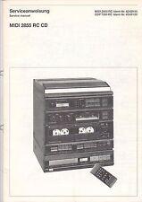 Midi 2855 RC CD-CDP 7300 RC-Service instruction service manual-b3116