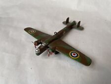 VINTAGE DIECAST DINKY TOYS ARMSTRONG WHITWORTH 'WHITLEY' RAF BOMBER CAMOUFLAGED
