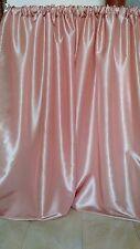 "Rose Gold backdrop drapes taffeta 57"" wide, non sheer. Wedding, wall covering."