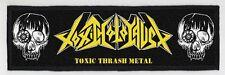 TOXIC HOLOCAUST SUPERSTRIP PATCH / SPEED-THRASH-BLACK-DEATH METAL
