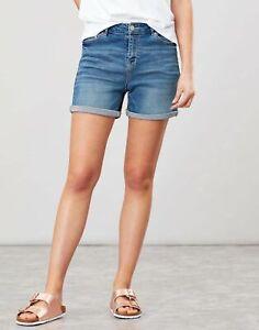 Joules Womens Shirley Denim Shorts - Light Denim