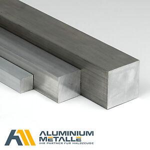 Aluminium Vierkant Vierkantstab Alu Block AlCuMgPb Block 4kant 4-kant Vollstab