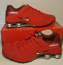 Nike Shox NZ Men's Running Shoes University Red 378341-601 Size 10