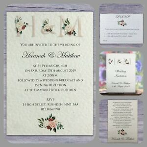 Wedding Invitations - Save The Date - RSVP - Menu - Information - Gifts + More!