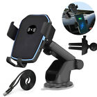 Qi Wireless Fast Charging Car Charger Mount Holder For Cell Phone iPhone 12 11 8