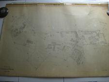 ROMA Mappa Catastale 429 VIA AURELIA GREGORIO VII PORTA CAVALLEGGERI 1943