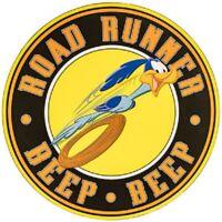 "ROAD RUNNER  METAL SIGN DECOR 30"" Diameter Plymouth Cuda Dodge 69 XXL"