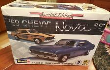 Revell Special Edition '69 Chevy Nova SS plastic kit 1:25 scale model NEW IN BOX
