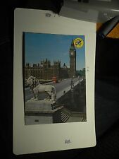 Clock Tower 'Big Ben London England North Palace Westminster Double Decker Bus