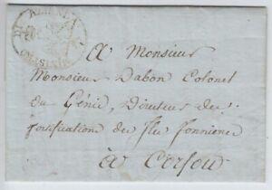 Italien Vorphila Neapel - Korfu 1808
