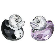 "SWAROVSKI SILVER CRYSTAL HAPPY DUCKS-2012 SIR AND LADY DUCK"" 1096733 MINT IN BOX"