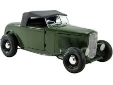 """1932 FORD ROADSTER """"GREEN WITH ENVY"""" LTD 1/18 DIECAST MODEL CAR BY ACME A1805018"""