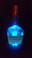 Base Lit Lamp - Color Change W/Remote - Makers Mark - Handcrafted Brand New