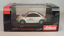 Schuco 1/43 VW New Beetle weiß The Legend in Toys OVP #2728