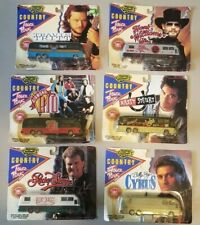 Vintage Road Champs 1993 Country Stars 6 Tour Buses Billy Ray Cyrus