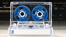 Audio Cassette Teac Blue Reel to Reel 46 min.