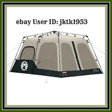 Coleman 8-Person Tent  60 Second Instant Set up Family 6 foot 7 inch Center High