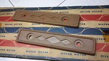 DATSUN NISSAN 720 Roof Headliner Trim Molding Genuine Parts NOS × 2 Pcs.