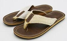 J5014 New w/Def Men's Steve Madden Dockk White Sandal 7 M