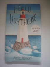 Hello Lighthouse by Sophie Blackall, signed 1st/1st, 2019 Caldecott Winner