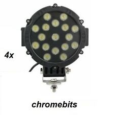 4pcs 12V 24V 51W LED Work Light Spot Beam Lamp Forklift Tracktor Backhoe Hackhoe