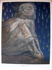 """Ernst Fuchs """"Agnus Mysticus"""