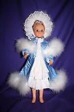 "Handmade 18"" doll clothes BLUE SNOW ANGEL dress & robe Crissy American Girl"