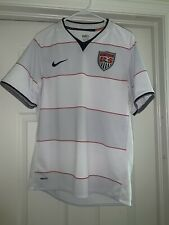 Usa Nike 2008 Home Soccer Jersey Hoops World Cup Qualifiers Donovan Dempsey