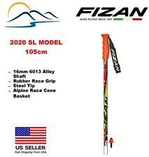 2020 FIZAN Downhill Aluminum Ski Poles - Junior Race Slalom SL 105cm
