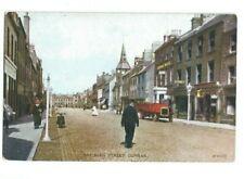 Postcard High Street Dunbar East Lothian Valcoloue Hand Coloured 1926
