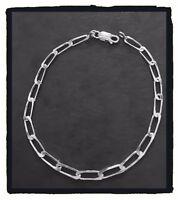 Bracelet Maille Cheval  21CM Argent Massif 925/1000 Poinçonné Bijoux Neuf