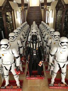 "Star Wars Episode VII 48"" Inch First Order Stormtrooper Figure Jakks Pacific"