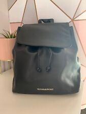 Victorias Secret Black Backpack Bag