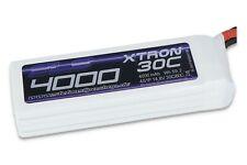 SLS XTRON 4000mAh 4S1P 14.8V 30C/60C mit XT-90 Stecker! Qualitäts-Lipo Akku