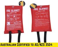 FIRE BLANKET Emergency Tools  Fiberglass Cloth Safety House Up to 500 Degree AU
