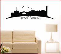 Wandtattoo Skyline Manisa Türkei Türkisch Wohnzimmer Istanbul Wandaufkleber