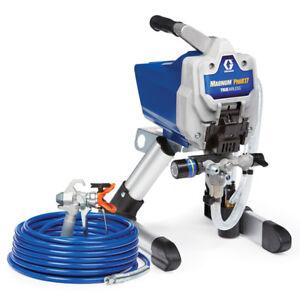 Graco Magnum Pro X17 Stand 17G177 Airless Paint Sprayer Prox17 Refurb w/new hose
