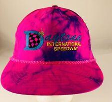 Daytona International Speedway Tie-Dye Pink/Purple Hat/ Cap Snapback