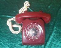 VINTAGE RETRO TELEPHONE ERICSSON LM ROTARY PHONE 1968 BAKELITE