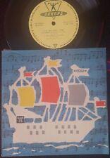 """BACH - Cello Suite #2 PABLO CASALS SOLO AKKORD 8"""" EX"""