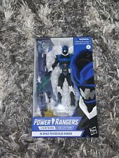 """Power Rangers Lightning Collection 6"""" In Space Psycho Blue Ranger Figure Sealed"""